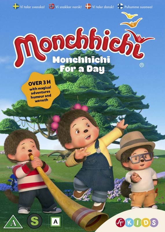 Monchhichi - Monchhichi - Film -  - 7333018015258 - 8/8-2019