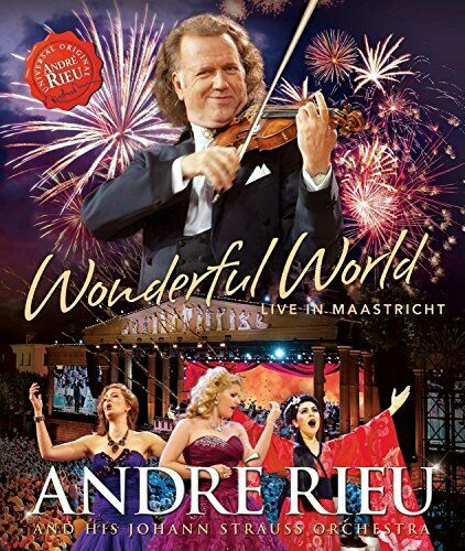 Wonderful World - Live in Maastricht - Andre Rieu - Film - UNIVERSAL - 0602547472267 - 20/11-2015