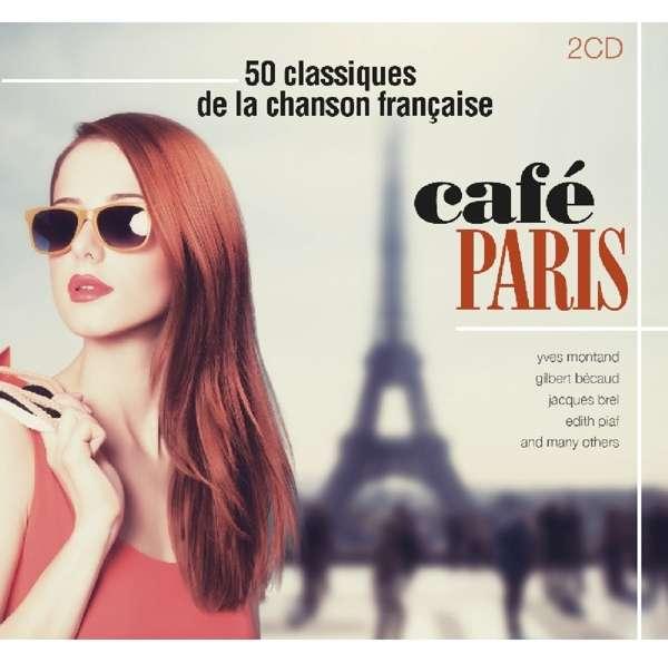 Cafe Paris - 50 Classiques De La Chanson Francaise - V/A - Musik - FACTORY OF SOUNDS - 8719039002269 - 6/4-2017