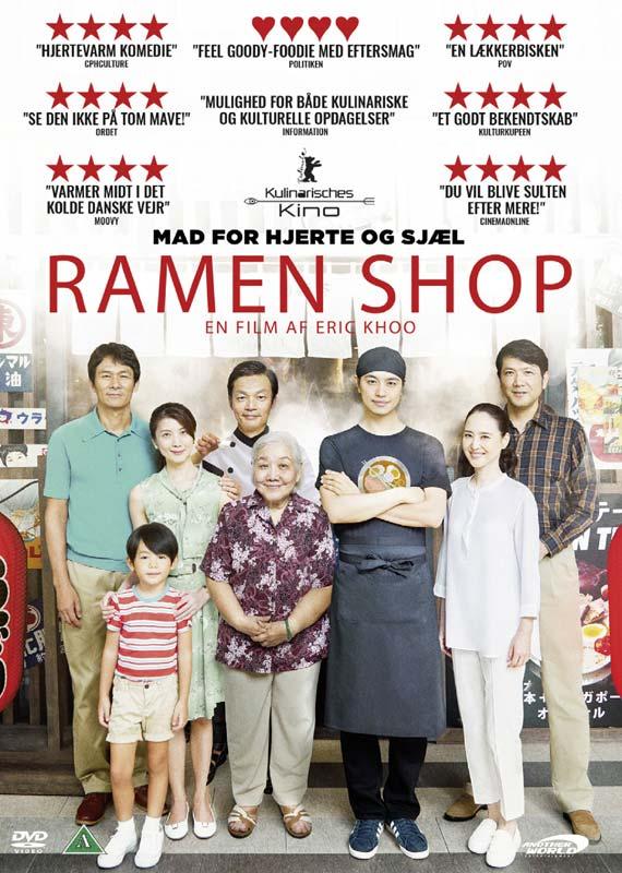 Ramen Shop - Eric Khoo - Film - AWE - 5709498018294 - 29/7-2019