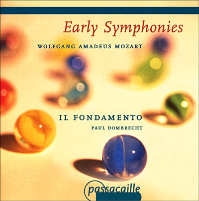 Early Symphonies - W.a. Mozart - Musik - PASSACAILLE - 5425004849304 - 26/3-2001