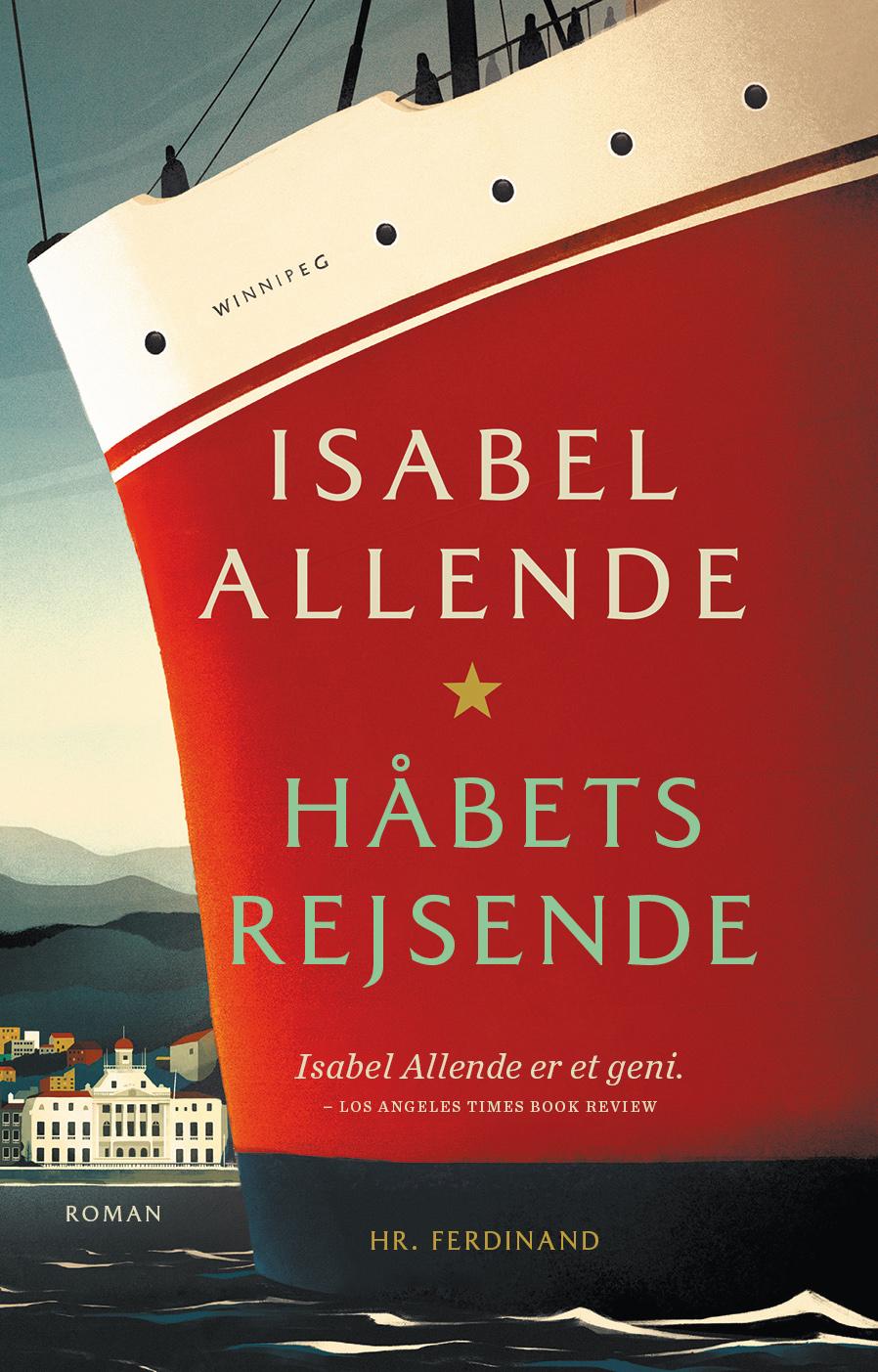 Håbets rejsende - Isabel Allende - Bøger - Hr. Ferdinand - 9788740064308 - 9/10-2020