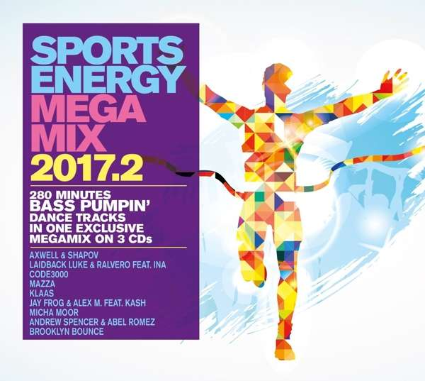 Sports Energy Megamix 2017.2 - V/A - Musik - I LOVE THIS - 4032989209323 - 1/9-2017