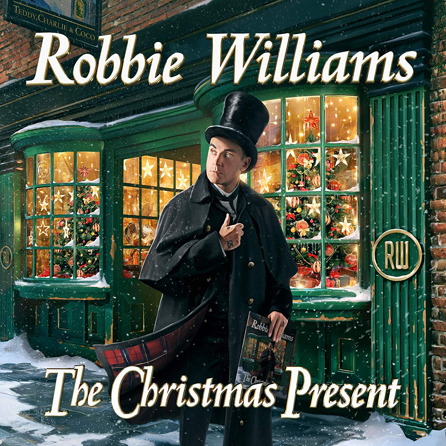 Christmas Present (Deluxe) - Robbie Williams - Musik - COLUMBIA - 0190759967324 - 22/11-2019