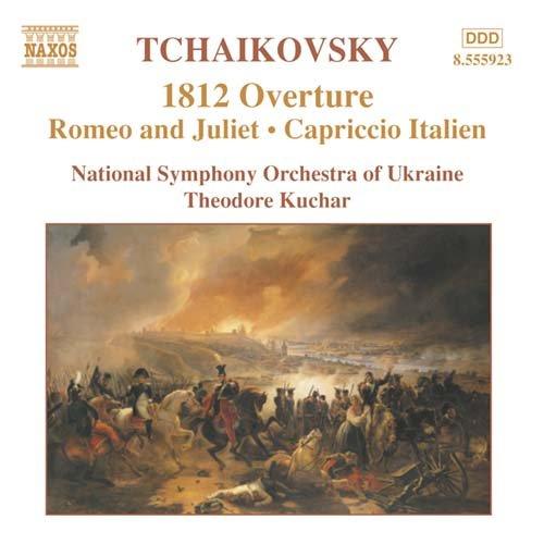 1812 Overture / Capriccio Italien / Romeo & Juliet - National Symphony Orchestra of Ukraine / Theodore Kuchar - Musik - NAXOS - 0747313592326 - 11/8-2003