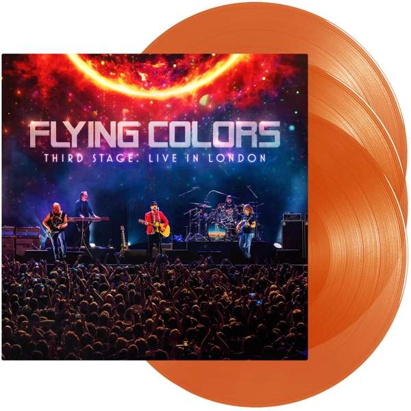 Third Stage:live in London - Flying Colors - Musik - MUSIC THEORIES RECORDINGS - 0810020502329 - 18/9-2020