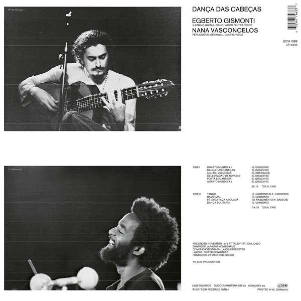 Danca Das Cabecas - Egberto Gismonti - Musik - JAZZ - 0602547746337 - 6/10-2016