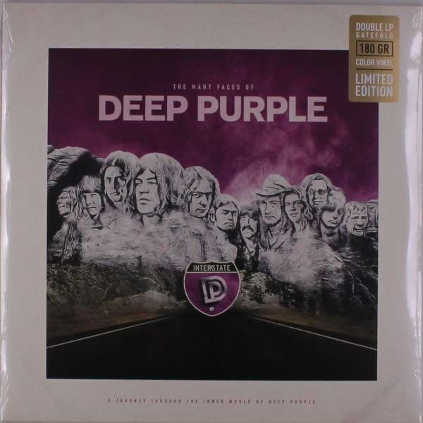 The Many Faces Of Deep Purple (Limited Edition Marble Vinyl ) - Deep Purple - Musik - MUSIC BROKERS - 7798093712353 - 28/8-2020