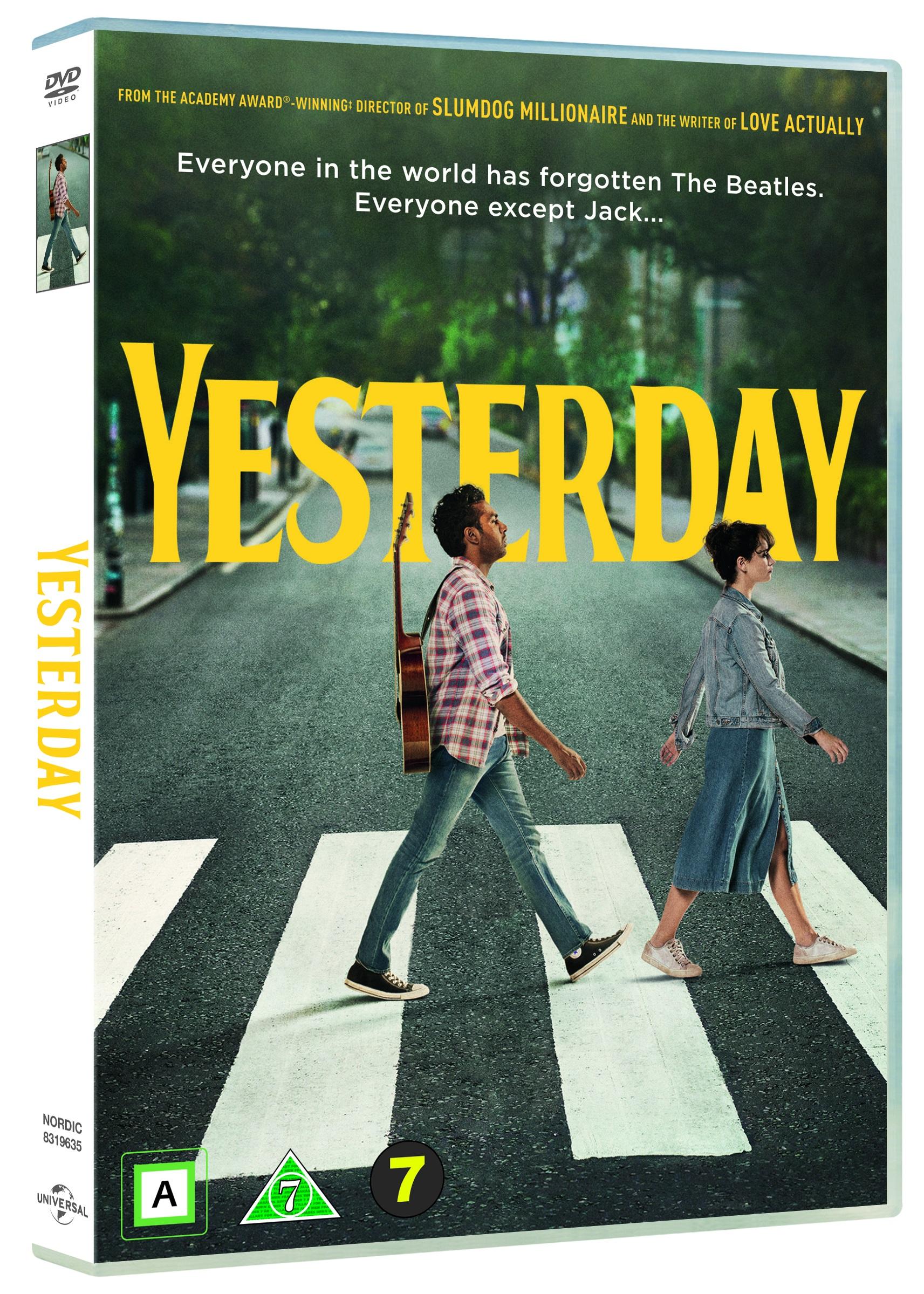 Yesterday -  - Film -  - 5053083196356 - 14/11-2019