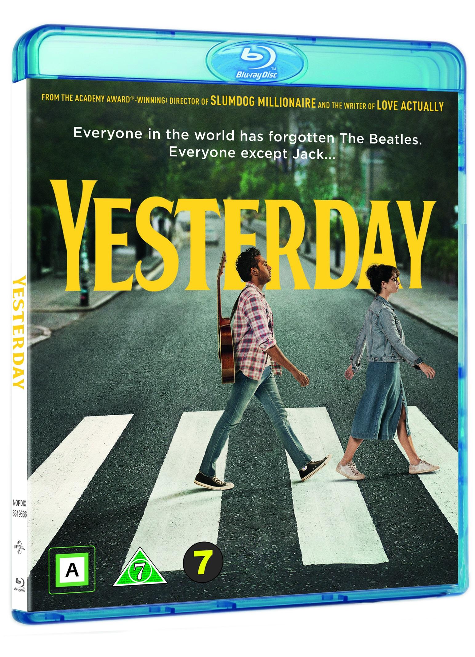 Yesterday -  - Film -  - 5053083196363 - 14/11-2019