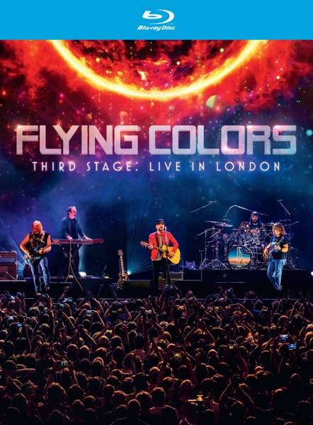 Third Stage:live in London - Flying Colors - Film - MUSIC THEORIES RECORDINGS - 0810020502367 - 18/9-2020