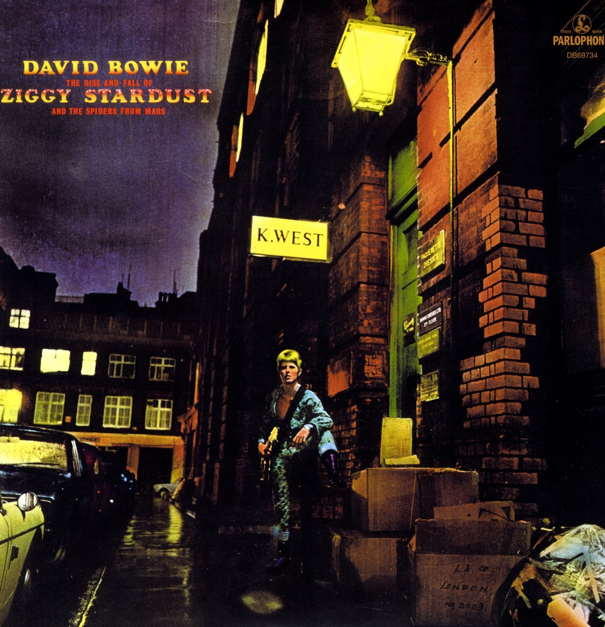 The Rise And Fall of Ziggy Stardust And The Spiders from Mars - David Bowie - Musik - PLG - 0825646287376 - 26/2-2016