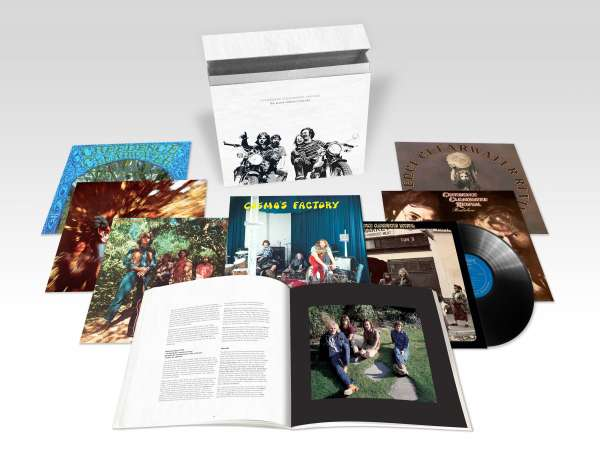 The Half Speed Masters Box - Creedence Clearwater Revival - Musik - CONCORD - 0888072049376 - 14/12-2018