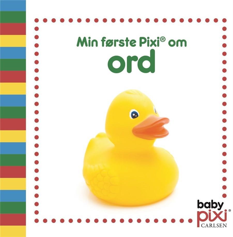 Baby Pixi®: Min første Pixi® om ord - . - Bøger - CARLSEN - 9788711980378 - 16/6-2020