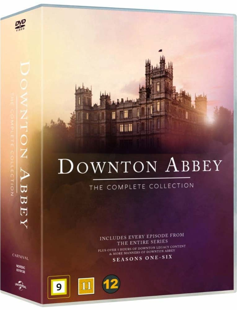 Downton Abbey - The Complete Collection - Downton Abbey - Film -  - 5053083191382 - 5/8-2019