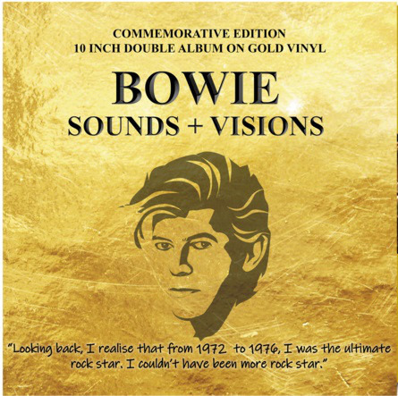 Sounds & Visions (Gold Vinyl) - David Bowie - Musik - CODA PUBLISHING LIMITED - 5060420345384 - 9/10-2020