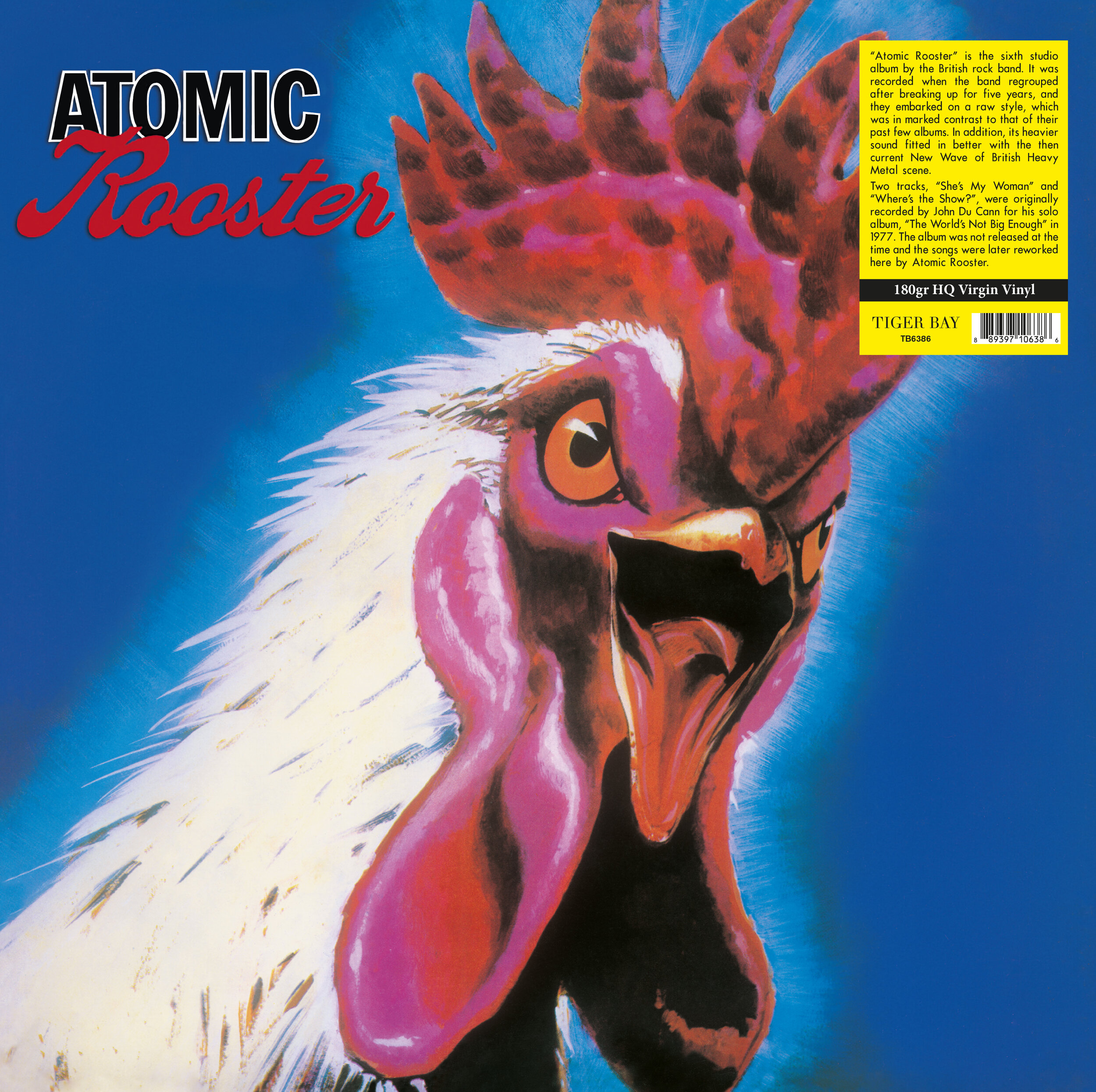 Atomic Rooster - Atomic Rooster - Musik - TIGER BAY - 0889397106386 - 17/5-2019