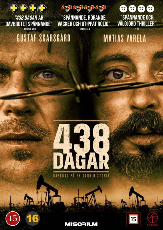 438 Dagar -  - Film -  - 7333018015388 - 27/12-2019