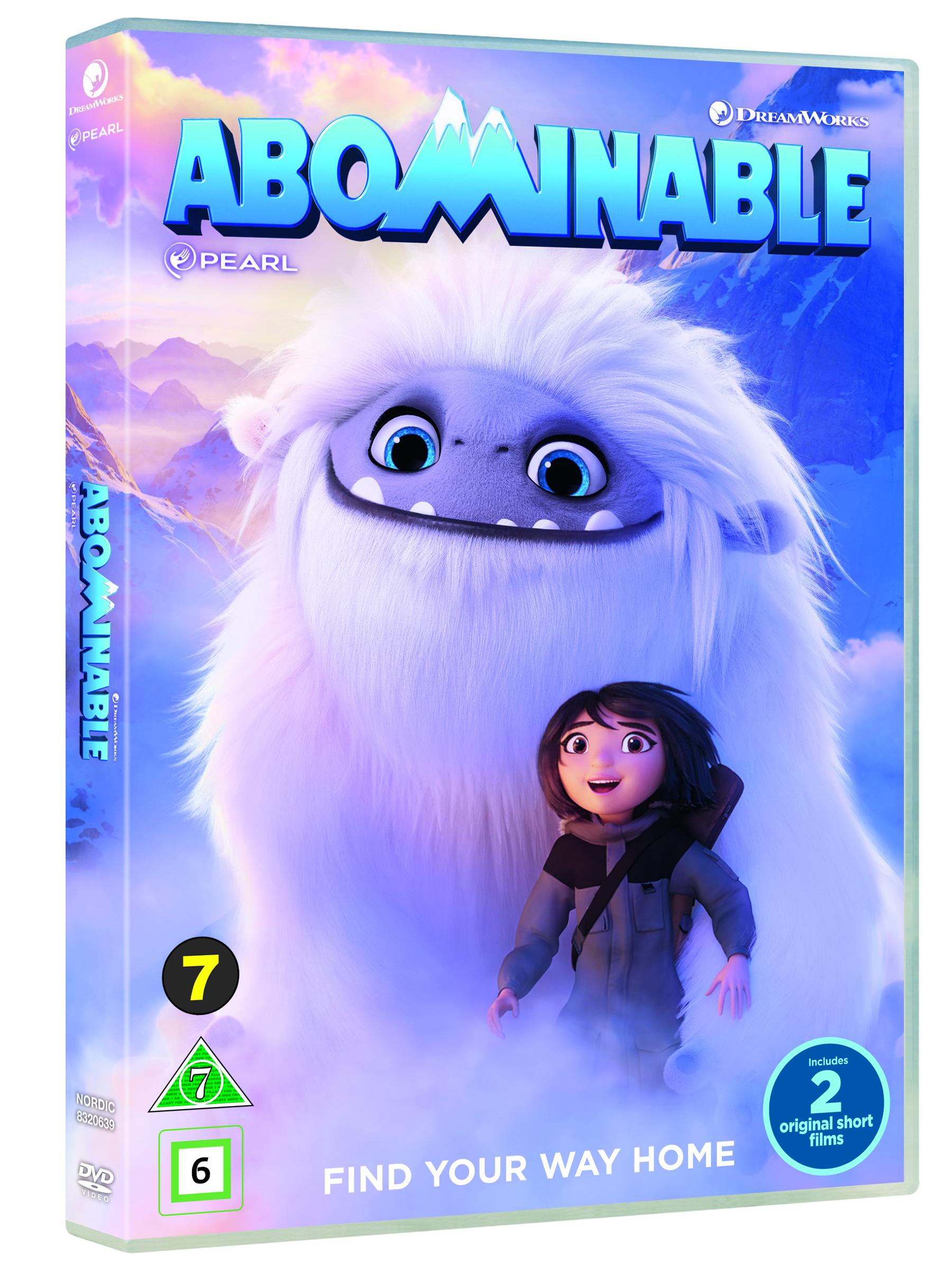 Abominable / Den Lille Afskyelige Snemand -  - Film -  - 5053083206390 - 12/3-2020