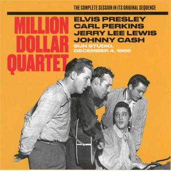 The Million Dollar Quartet - The Complete Session In Its Original Sequence - Elvis Presley / Carl Perkins / Jerry Lee Lewis / Johnny Cash - Musik - STATE OF ART - 8436569191392 - 16/2-2018