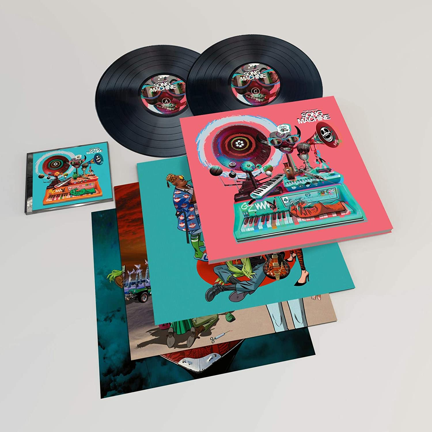 Song Machine, Season One: Strange Timez - Gorillaz - Musik - PLG - 0190295209407 - 23/10-2020