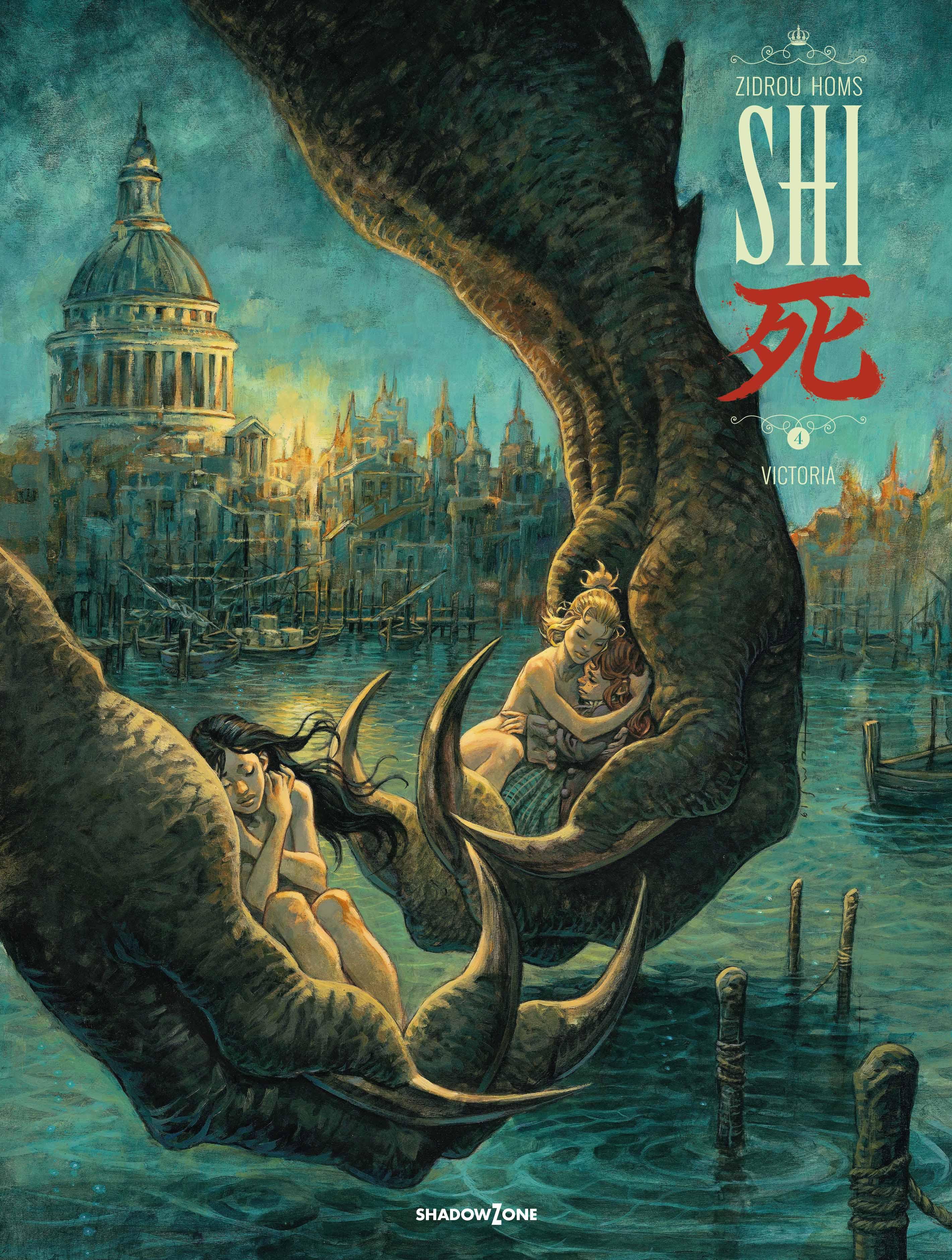SHI: SHI 4 - Victoria - Zidrou og José Homs - Bøger - Shadow Zone Media - 9788792048417 - 29/5-2020