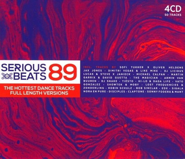 Serious Beats 89 - V/A - Musik - 541 LABEL - 5414165101420 - 5/4-2018