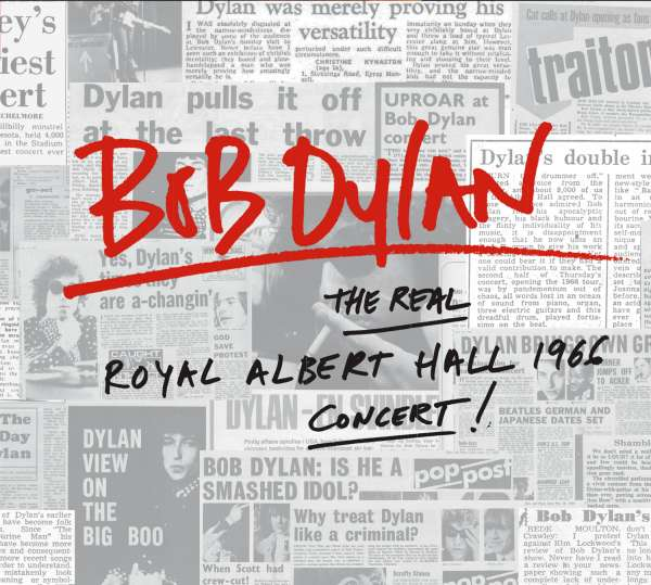 The Real Royal Albert Hall 1966 Concert - Bob Dylan - Musik - Sony Owned - 0889853743421 - 25/11-2016