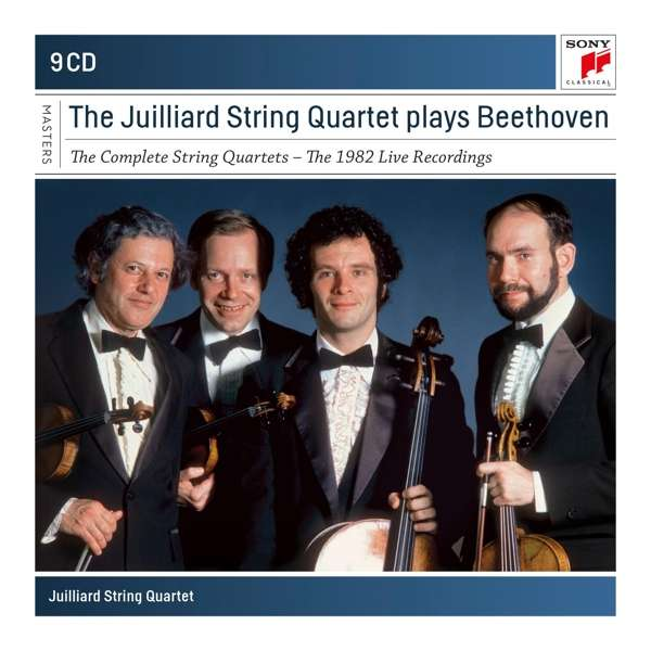 Beethoven: the Complete String Quartets - Juilliard String Quartet - Musik - SONY CLASSICAL - 0190759644423 - 13/11-2020