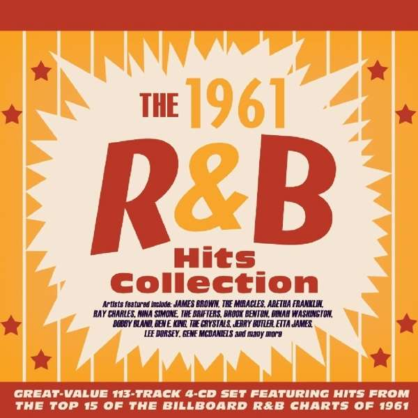 The 1961 R&B Hits Collection - Various Artists - Musik - ACROBAT - 0824046713423 - 11/1-2019