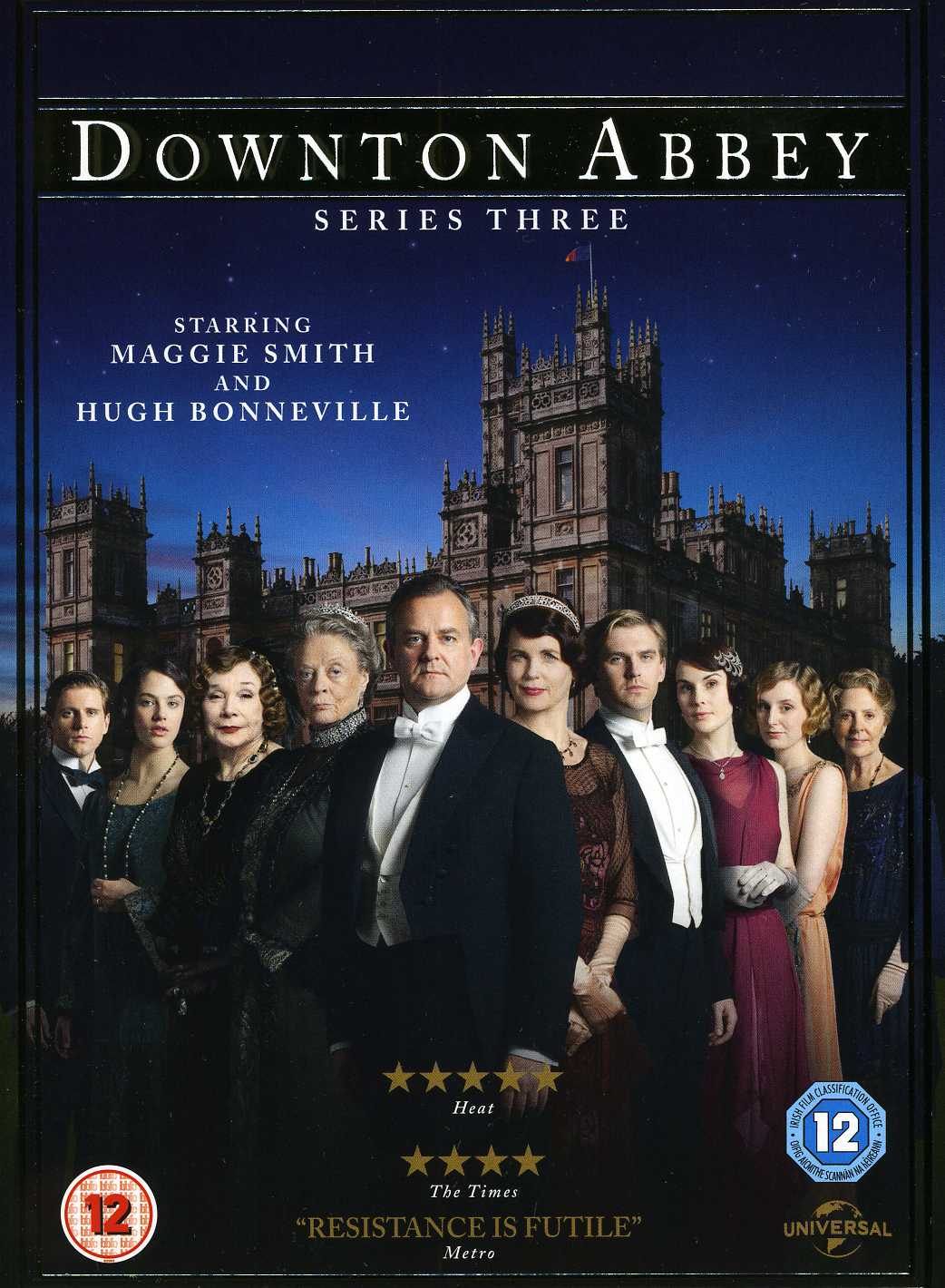 Downton Abbey  Series 3 - Fox - Film - UNIVERSAL PICTURES - 5050582916423 - 5/11-2012