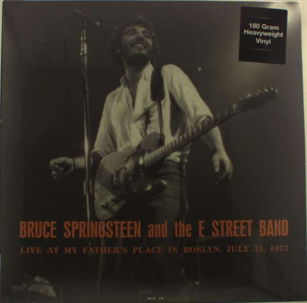 Live At My Fathers Place In Roslyn Ny July 31 1973 Wlir-Fm (Blue Vinyl) - Bruce Springsteen & the E Street Band - Musik - DOL - 0889397520427 - 13/11-2015