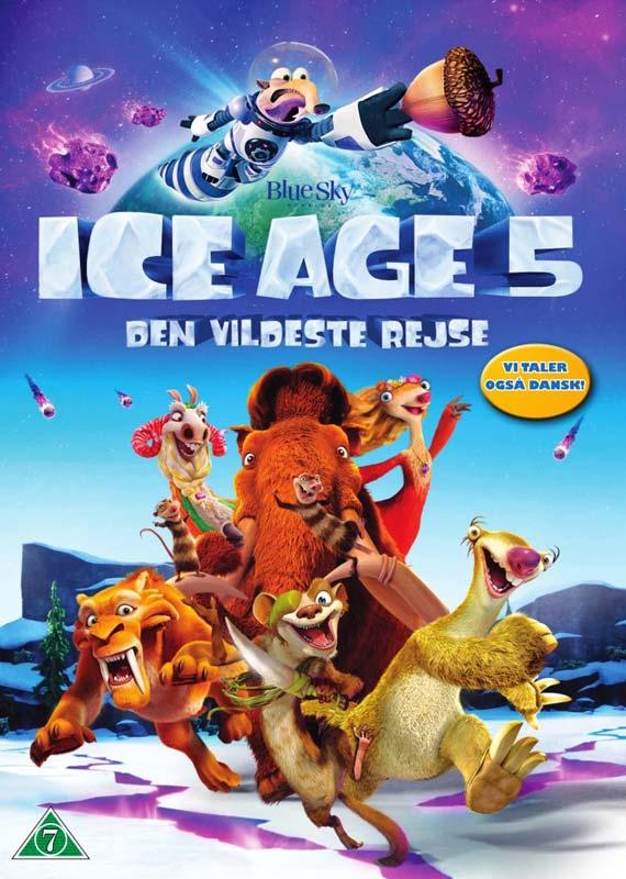 Ice Age 5 - Den Vildeste Rejse - Ice Age - Film -  - 7340112731427 - 17/11-2016