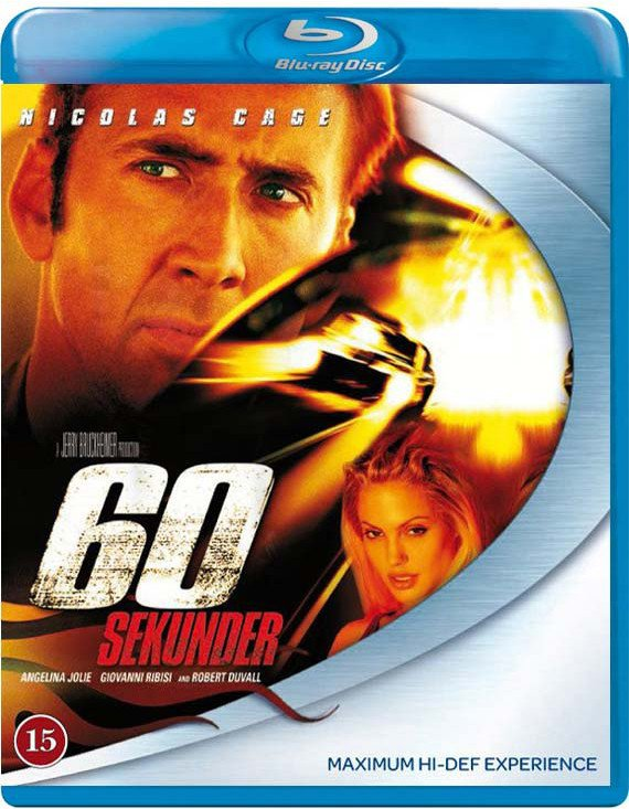 Gone in Sixty Seconds (60 Sekunder) -  - Film -  - 8717418563431 - 6/2-2020