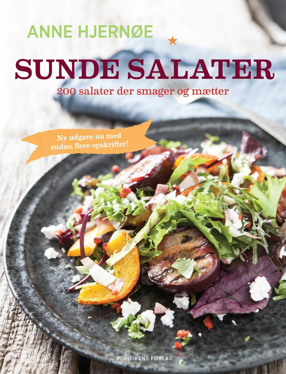 Sunde salater - Anne Hjernøe - Bøger - Politikens Forlag - 9788740026450 - 4/12-2015