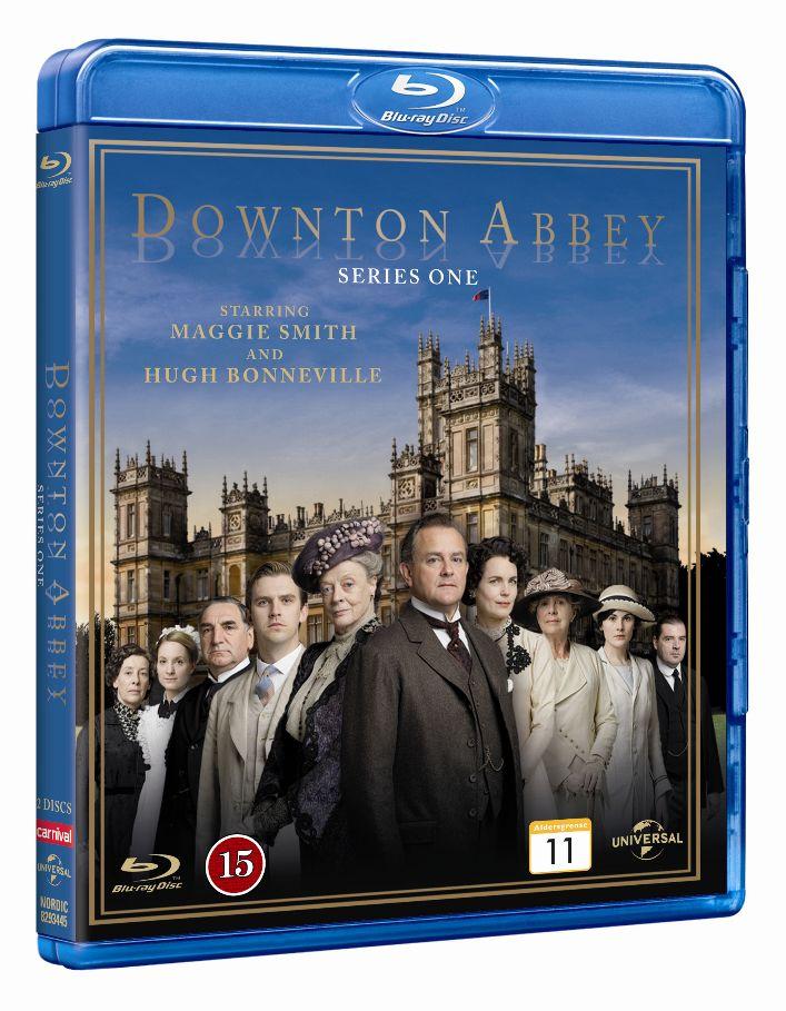 Downton Abbey - Sæson 1 - Series - Film - CARNIVAL EXTERNAL TERRESTRIAL - 5050582934458 - 22/1-2013