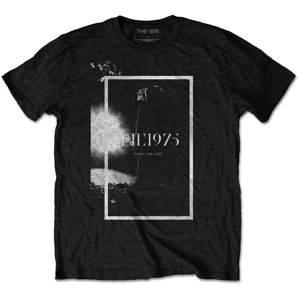 The 1975 Unisex Tee: Music for Cars - 1975 - The - Merchandise -  - 5056170687461 -