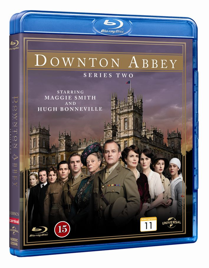 Downton Abbey - Sæson 2 - Series - Film - CARNIVAL EXTERNAL TERRESTRIAL - 5050582934465 - 22/1-2013