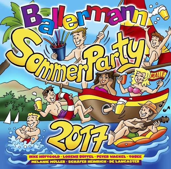Ballermann Sommerparty 2017 - V/A - Musik - SELECTED - 4032989513468 - 19/10-2017