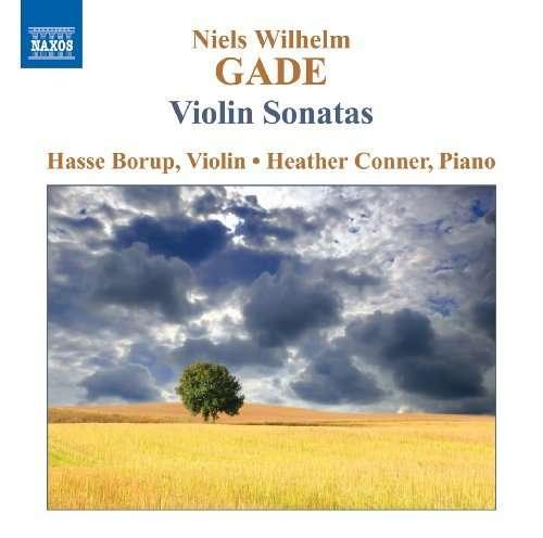 Niels Wilhelm Gade - Violin Sonatas Nos. 1-3 - Hasse Borup (violin) & Heather Conner (piano) - Musik - NAXOS - 0747313052479 - 25/11-2009