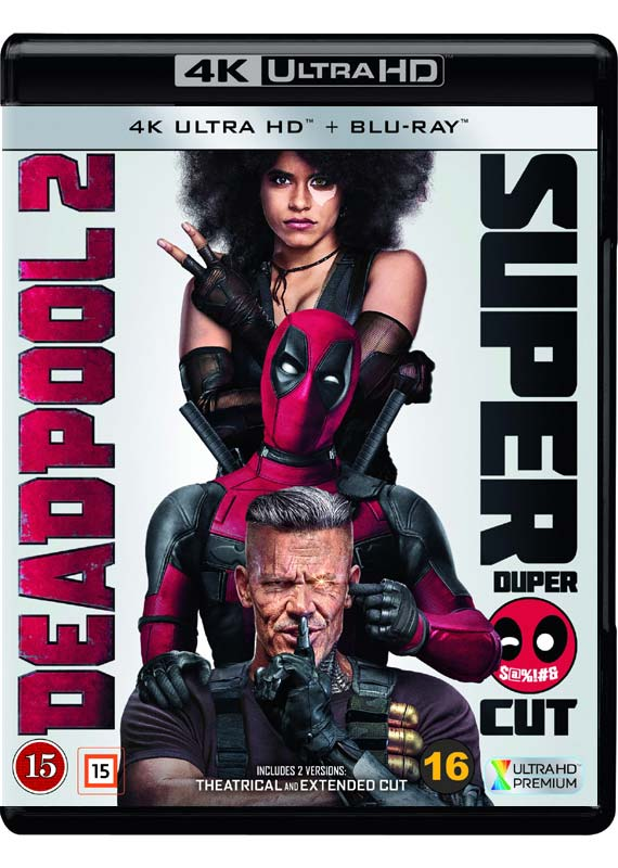 Deadpool 2 -  - Film -  - 7340112745479 - 1/10-2018