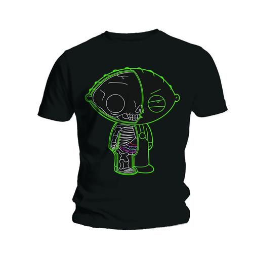 Family Guy Unisex Tee: Stewie X-ray - Family Guy - Merchandise - Unlicensed - 5023209415487 - 20/6-2013