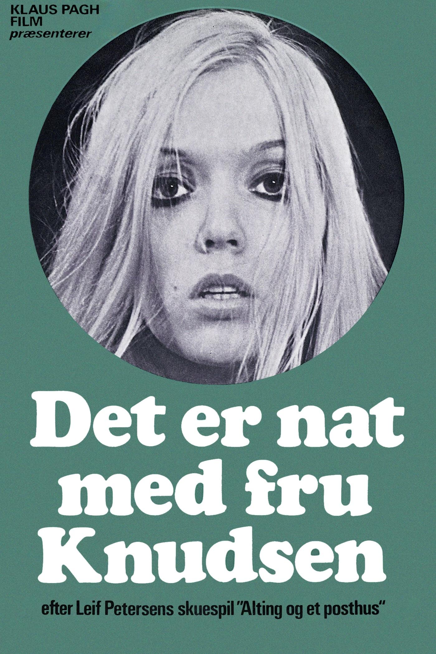 Det Er Nat Med Fru Knudsen -  - Film -  - 5708758704489 - 19/8-2020