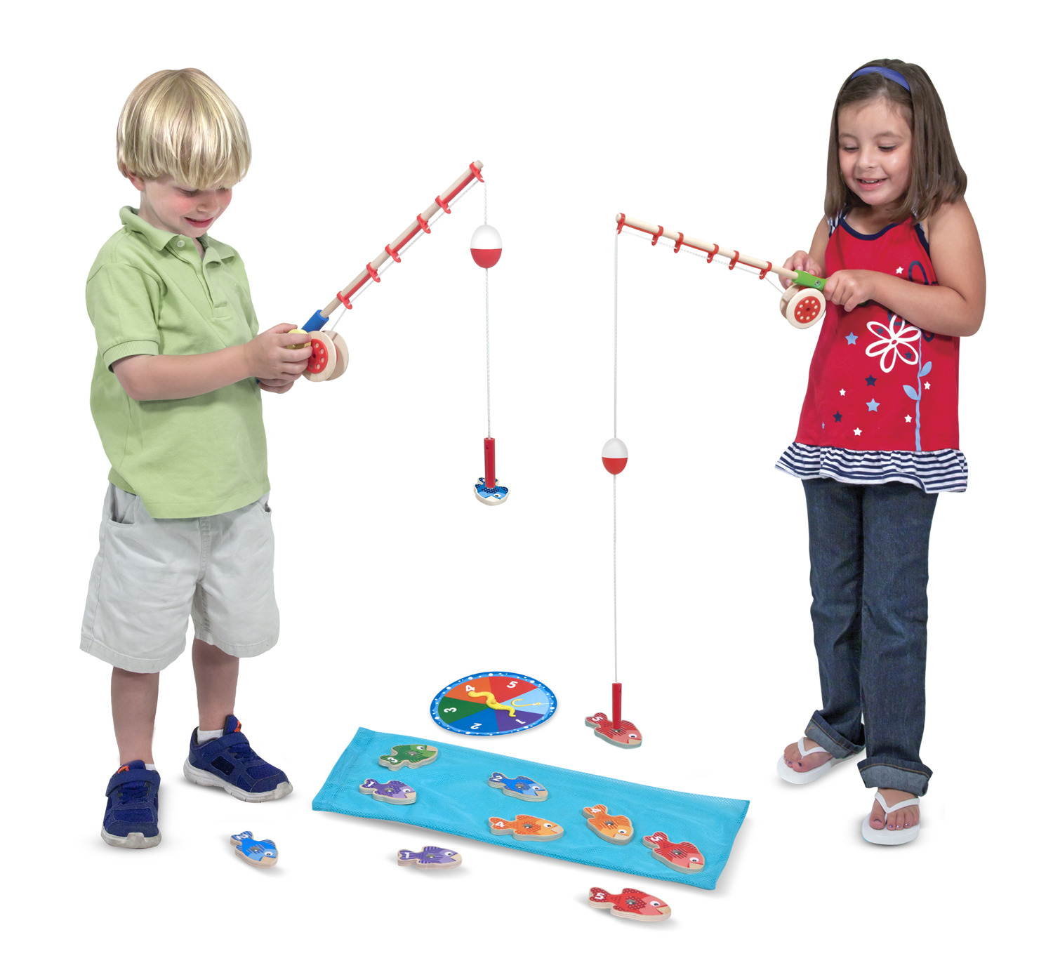 Melissa  and  Doug - Catch  and  Count Fishing Game (15149) - Melissa And Doug - Brætspil -  - 0000772151498 -