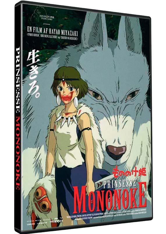 Prinsesse Mononoke - Hayao Miyazaki - Film - Studio Ghibli - 5705535059503 - 2/11-2017