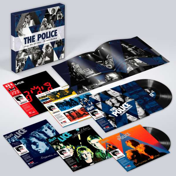 Every Move You Make: The Studio Recordings - Police - Musik - A&M - 0602567632504 - 16/11-2018