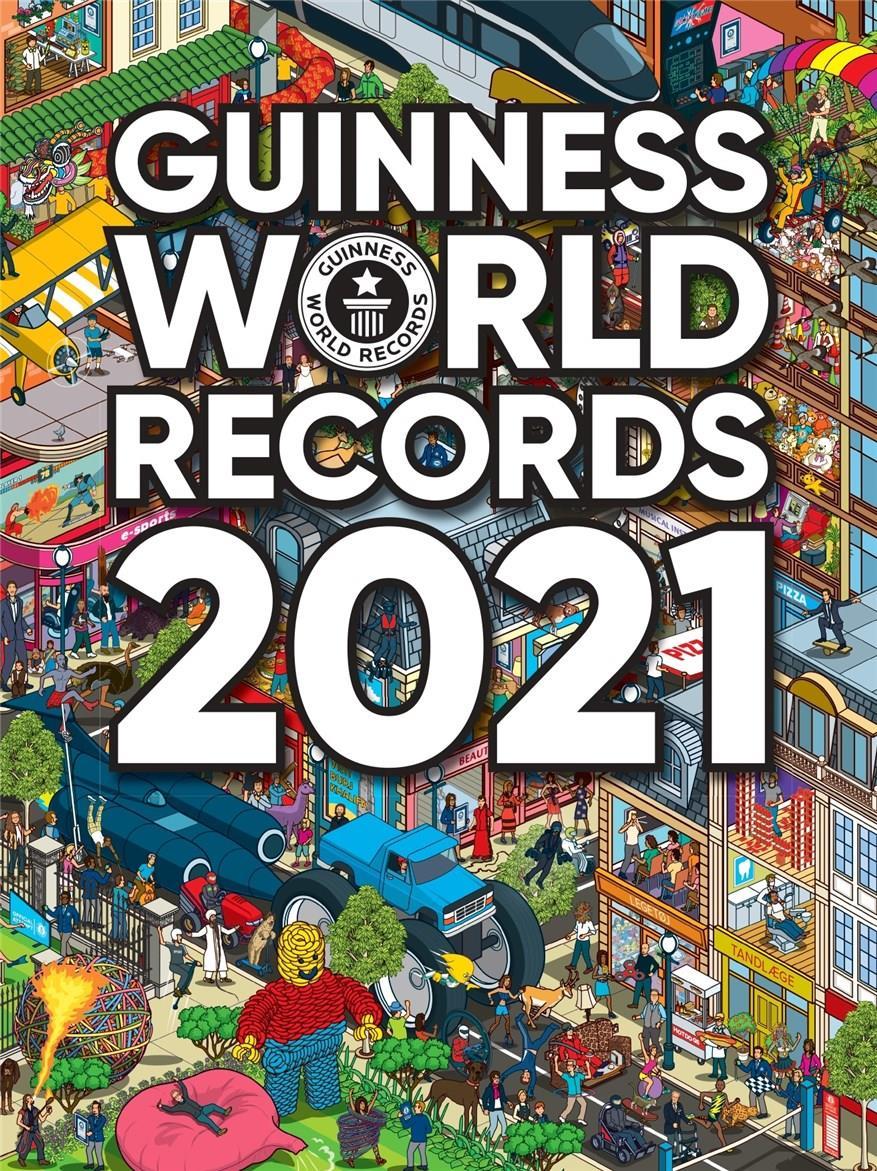 Guinness World Records 2021 - Guinness World Records - Bøger - CARLSEN - 9788711981511 - 2/10-2020