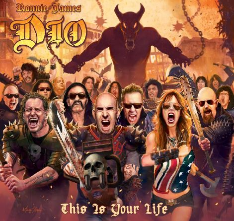 This is Your Life - A Tribute - Ronnie James Dio - Musik - WARNER BROTHERS - 0603497904518 - 31/3-2014