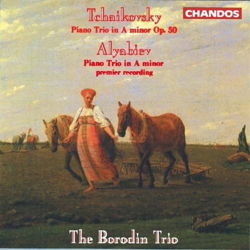 Trios - Tchaikovsky/ Lyabiev - Musik - CHANDOS - 0095115897522 - 17/6-2009