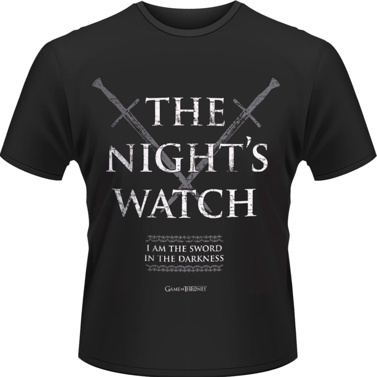 Night Watch - T-shirt =game of Thrones= - Merchandise - PHDM - 0803341452527 - 6/10-2014